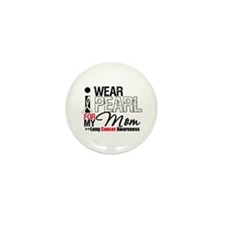 Lung Cancer (Mom) Mini Button (10 pack)