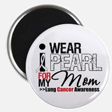 "Lung Cancer (Mom) 2.25"" Magnet (10 pack)"