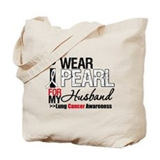 Lung Cancer (Husband) Tote Bag