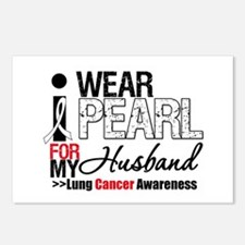 Lung Cancer (Husband) Postcards (Package of 8)