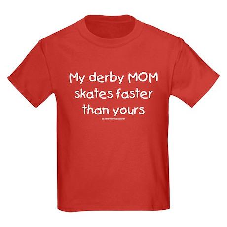 Derby Mom Kids Dark T-Shirt