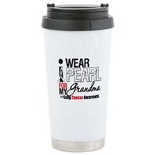 Lung Cancer (Grandma) Travel Coffee Mug
