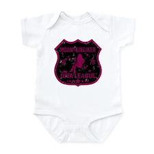 Mountain Biker Diva League Infant Bodysuit