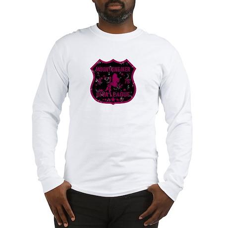 Mountain Biker Diva League Long Sleeve T-Shirt