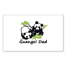 Gungxi Dad Rectangle Decal