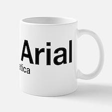 Fuck Helvetica (Black) Mug
