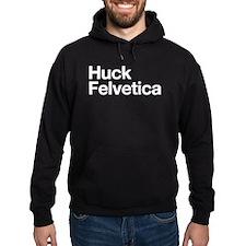 Huck Felvetica (White) Hoodie