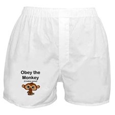 """""""Obey the Monkey, (it makes s Boxer Shorts"""