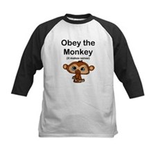 """Obey the Monkey, (it makes s Tee"