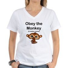 """Obey the Monkey, (it makes s Shirt"
