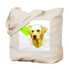 Unique Yellow labrador Tote Bag