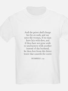 NUMBERS  5:19 Kids T-Shirt