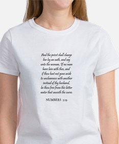 NUMBERS 5:19 Women's T-Shirt