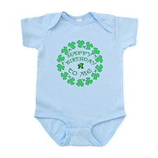 St Pats Happy Birthday To Me Infant Bodysuit