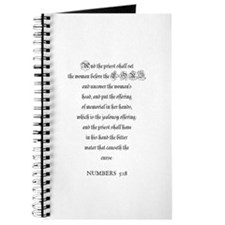 NUMBERS 5:18 Journal