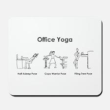 Office Yoga Mousepad