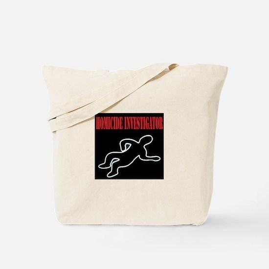 Homicide Investigator Tote Bag