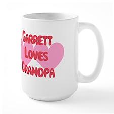 Garrett Loves Grandpa Mug