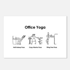 Office Yoga Postcards (Package of 8)
