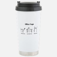 Office Yoga Travel Mug