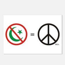 No Islam, Know Peace Postcards (Package of 8)