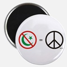 No Islam, Know Peace Magnet