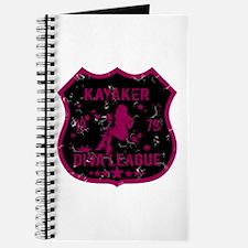 Kayaker Diva League Journal