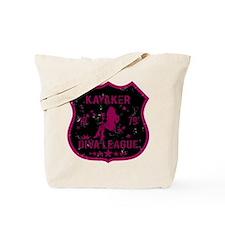 Kayaker Diva League Tote Bag