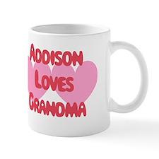 Addison Loves Grandma Mug