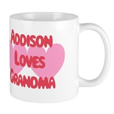 Addison Loves Grandma Mug