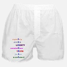 I am Liberal Boxer Shorts