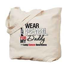 Lung Cancer (Daddy) Tote Bag