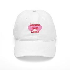 Grandma Loves Carter Baseball Cap