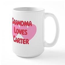 Grandma Loves Carter Mug