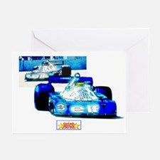 Tyrell 6 Wheeler F-1 Greeting Cards (Pk of 10)