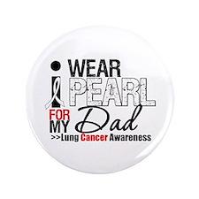 """Lung Cancer (Dad) 3.5"""" Button"""