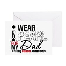 Lung Cancer (Dad) Greeting Card