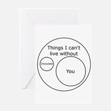 Can't Live Without You Greeting Card