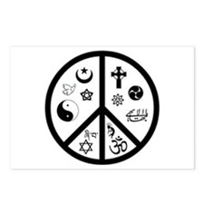Peaceful Coexistence Postcards (Package of 8)