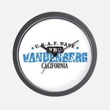 Vandenberg Air Force Base Wall Clock