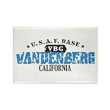 Vandenberg Air Force Base Rectangle Magnet