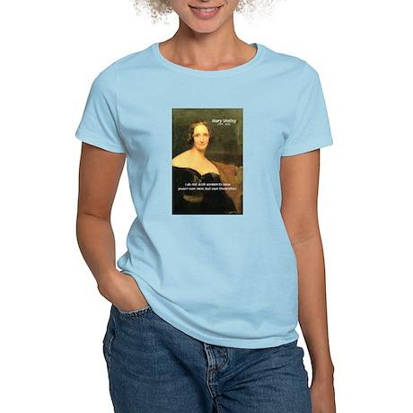 Novelist Mary Shelley Women's Pink T-Shirt