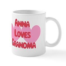 Anna Loves Grandma Mug
