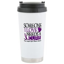Needs A Cure CYSTIC FIBROSIS Travel Mug