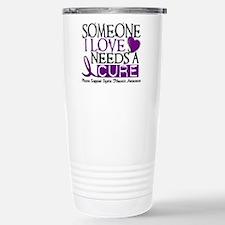 Needs A Cure CYSTIC FIBROSIS Travel Mug