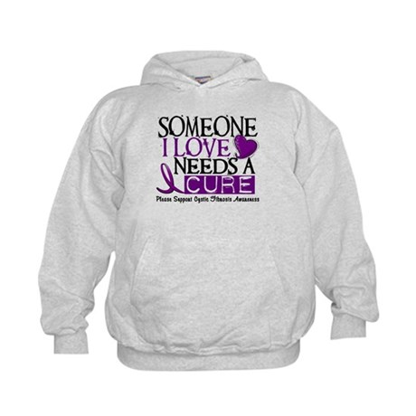 Needs A Cure CYSTIC FIBROSIS Kids Hoodie