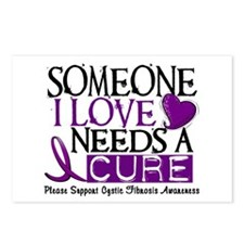 Needs A Cure CYSTIC FIBROSIS Postcards (Package of