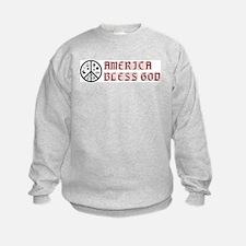 America Bless God Sweatshirt