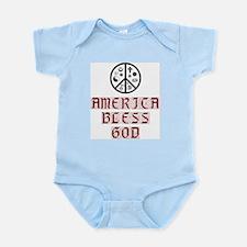 America, BLESS GOD Infant Creeper