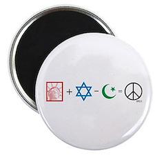 USA plus Israel minus Islam is Peace Magnet